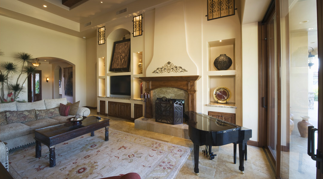 Room with Grand Piano